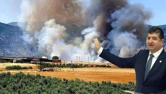 CHP'li Arı'dan şüphe uyandıran soru: Bu tarlalardaki ürünler neden yandı?