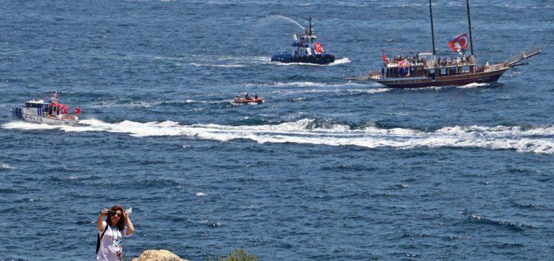 19 Mayıs'ta Antalya Körfezi'nde görsel şölen