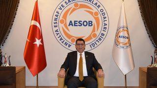 AESOB Başkanı Dere'den Ramazan Bayramı mesajı