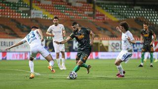 Son dakika.... Erzurumspor'dan Alanyaspor karşısında müthiş geri dönüş