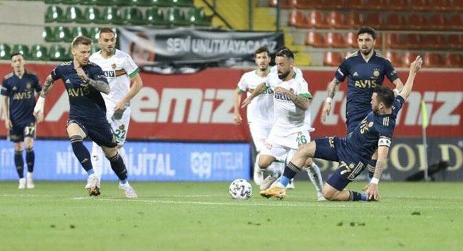 Alanyaspor Fenerbahçe maçı için karar verildi