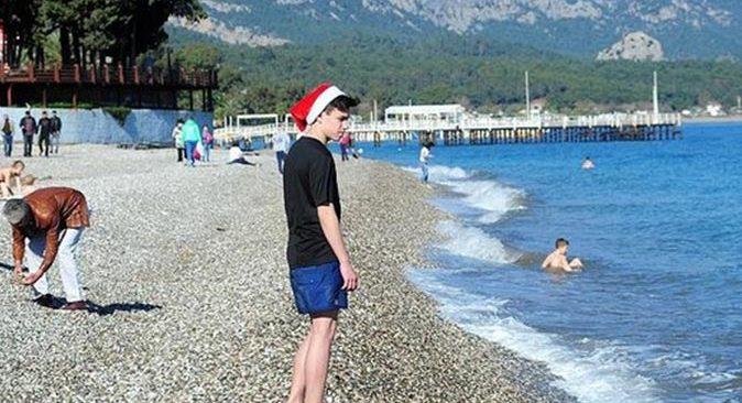 Antalya'da hava sıcaklığı artmaya devam ediyor