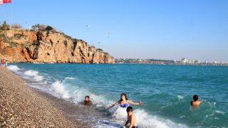 Antalya'da hava sıcaklığı artıyor