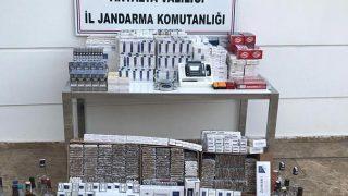 Antalya'da kaçak alkol operasyonu