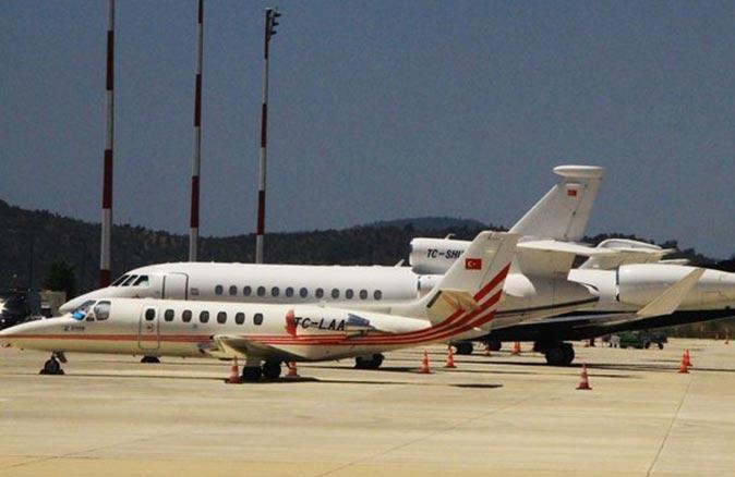 Antalya'dan kalkan özel jet acil iniş yaptı