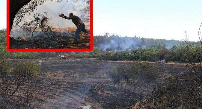 Antalya'da üç farklı ilçelede yangın çıktı
