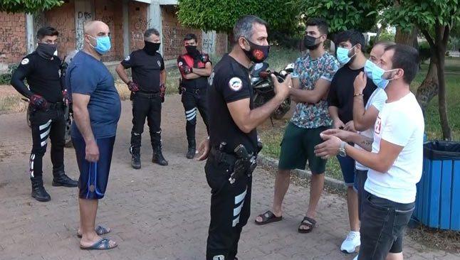 Antalya'da önce kısıtlamayı ihlal etti... Sonra da polise sitem!