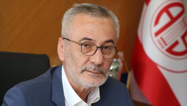 Antalyaspor Başkanı Mustafa Yılmaz'dan TFF Başkanı Nihat Özdemir'e sitem