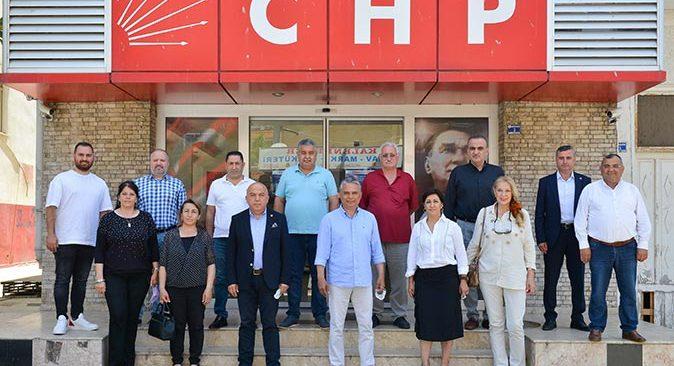 Başkan Ümit Uysal'dan CHP ziyareti