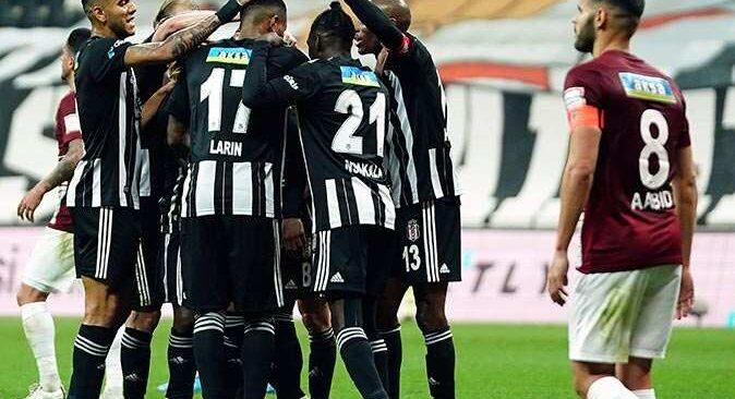 Beşiktaş'tan Hatayspor'a tarihi fark