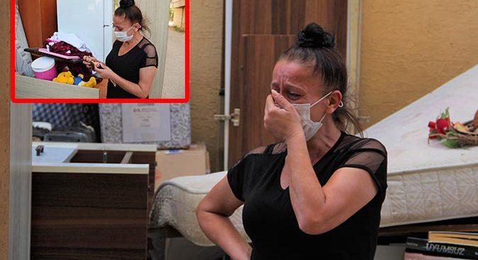 Pandemi nedeniyle işsiz olan Aysel Çınar sokağa atıldı