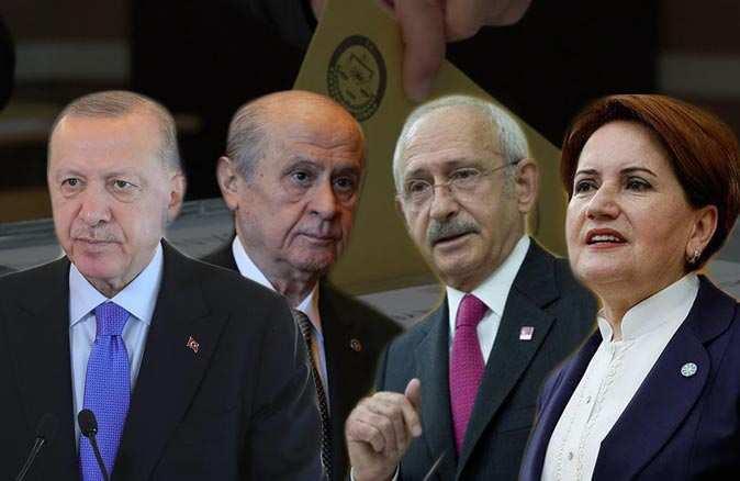 Son seçim anketinde sürpriz sonuç: İki parti barajın altında kaldı