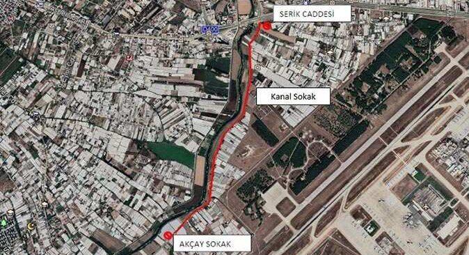 Antalyalılar dikkat! Kanal Sokak trafiğe kapatılacak