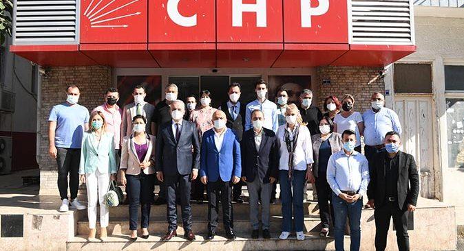 Başkan Semih Esen'den CHP İl Başkan'ı Nuri Cengiz'e ziyaret