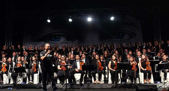 Muratpaşa Belediyesi Gençlik Orkestrası 'Son Balo' için buluştu