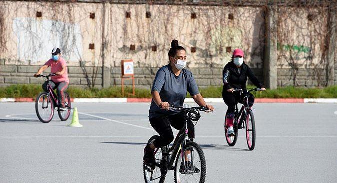 Bisiklet sürüş eğitimlerinde yaz dönemi başladı