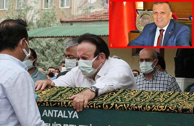 MATSO Başkanı Ahmet Boztaş son yolculuğuna uğurlandı