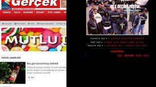Akdeniz Gerçek gazetesinin internet sitesi hacklendi