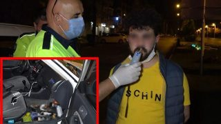 Antalya'da kısıtlamada ortalığı birbirine kattı, otomobilin içinden çıkanlar şoke etti