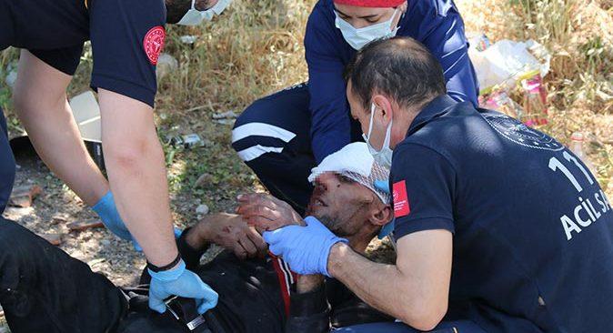Antalya'da dehşeti yaşattılar! Kanlar içerisinde bulundu