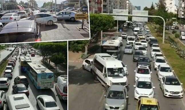 Antalya'da 'uygulama' kuyruğu çalışanı çileden çıkardı