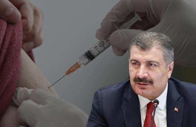 Bakan Fahrettin Koca: 3'üncü doz yerli aşı ile yapılacak