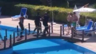 Antalya'da lüks rezidansa polis baskını! Gözaltına alındılar