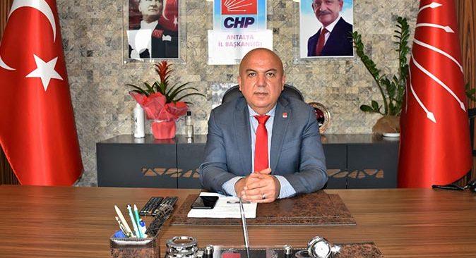 CHP Antalya İl Başkanı Nuri Cengiz: Engellilerin sorunlarını birlikte çözeceğiz