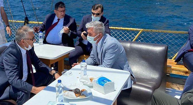 Denizciler Antalya İl Umumi Hıfzıssıhha Kurulu'nun kararlarından memnun