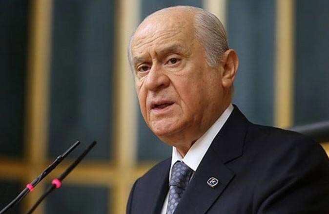 MHP lideri Devlet Bahçeli'den 100 maddelik yeni anayasa önerisi