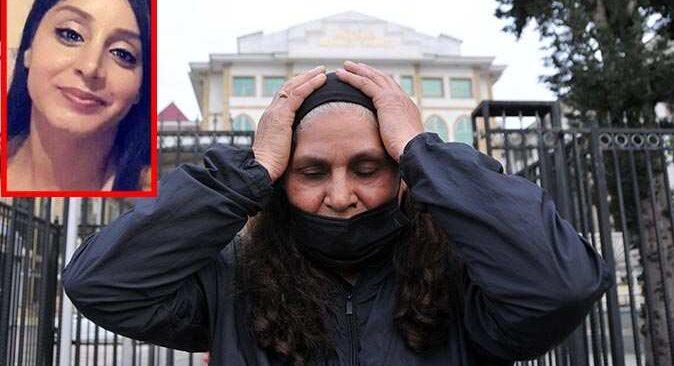 Tahliye talebini duyan anne mahkeme heyetinin önünde diz çöktü