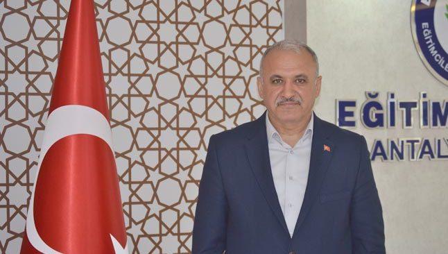 Eğitim Bir Sen Antalya Şube Başkanı Miran: İstikrar ve itibar yeniden zirvede