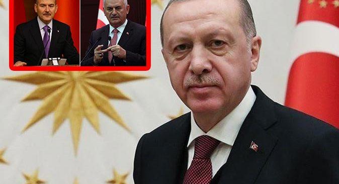 Cumhurbaşkanı Erdoğan'dan Süleyman Soylu ve Binali Yıldırım'a destek açıklaması