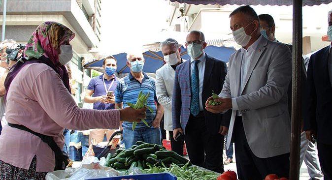 Antalya Valisi Ersin Yazıcı: Halkımız memnun, pazarcılar memnun