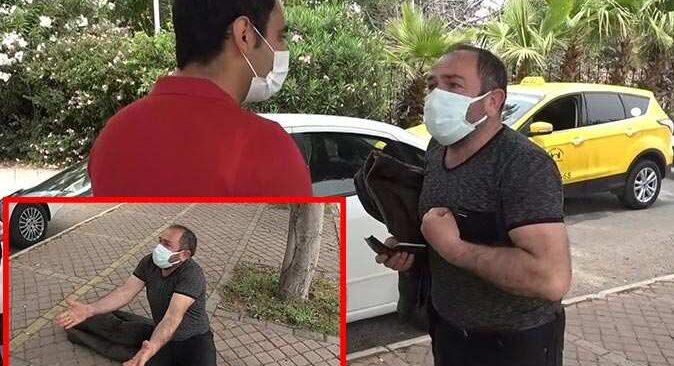 Antalya'da kısıtlamayı ihlalden ceza yedi! Sözleri ve hareketleri şaşkınlık yarattı