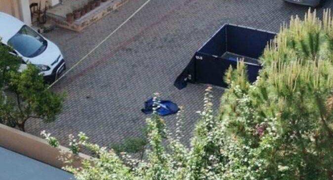Antalya'da 40 yaşındaki Kerem Şen apartman bahçesinde ölü bulundu
