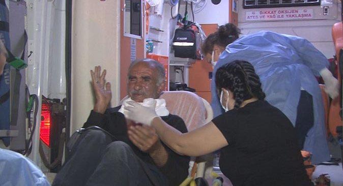 İzmir'de korkunç olay! Yaşlı adamın boğazını kestiler