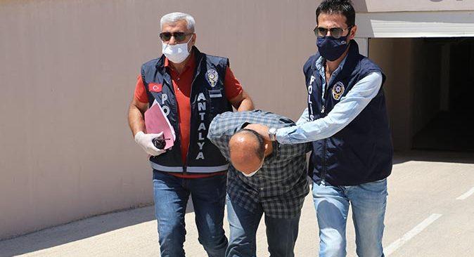 Antalya'da Hakan Ökten'in katil zanlısı özel ekiple 24 saat içinde yakalandı!