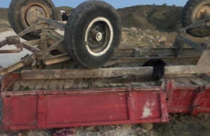 Piknik dönüşü traktörün römorku devrildi! Çok sayıda ölü ve yaralı var