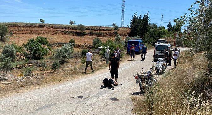 Manavgat'ta motosiklet devrildi! Müşerref Şenol yaralandı