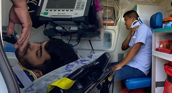Aksu'daki kazada sürücüler yaralandı