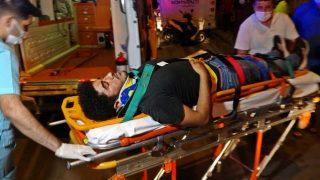 Antalya'da feci kaza! Kurye ağır yaralandı...