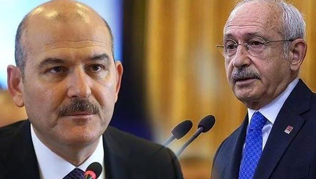 İçişleri Bakanı Soylu'dan CHP lideri Kılıçdaroğlu'na Sedat Peker yanıtı