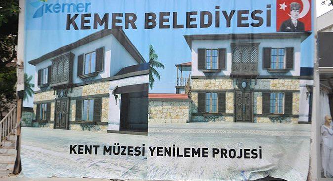 Kemer'in ilk müzesi açılıyor