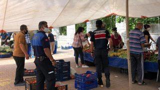 Kemer'de semt pazarları açıldı! Kemer Belediyesi ekipleri sıkı denetim yaptı