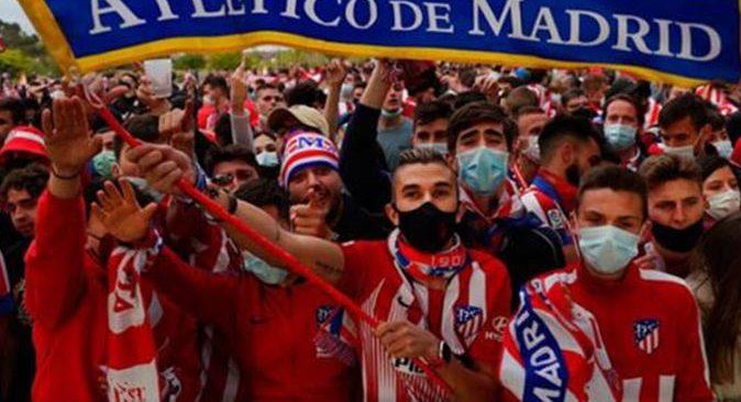 Atletico Madrid'in şampiyonluk kutlaması acı bitti! 14 yaşındaki çocuk hayatını kaybetti