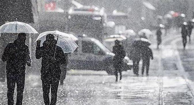 Meteoroloji'den birçok bölgeye yağış uyarısı