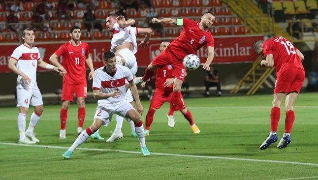 EURO 2020 öncesi iyi bir başlangıç... Türkiye kardeş takım önünde galip