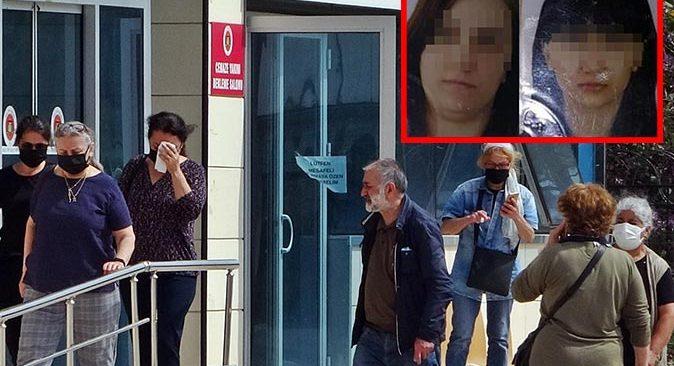 Antalya'da ölü bulunan anne ve kızının cenazeleri morgdan alındı