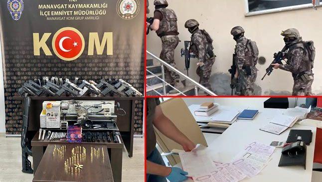 Antalya dahil 8 ilde 'Sahil Rüzgarı' operasyonu! Gözaltılar var...